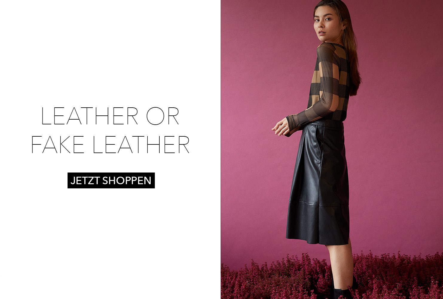 Leather or fake Leather