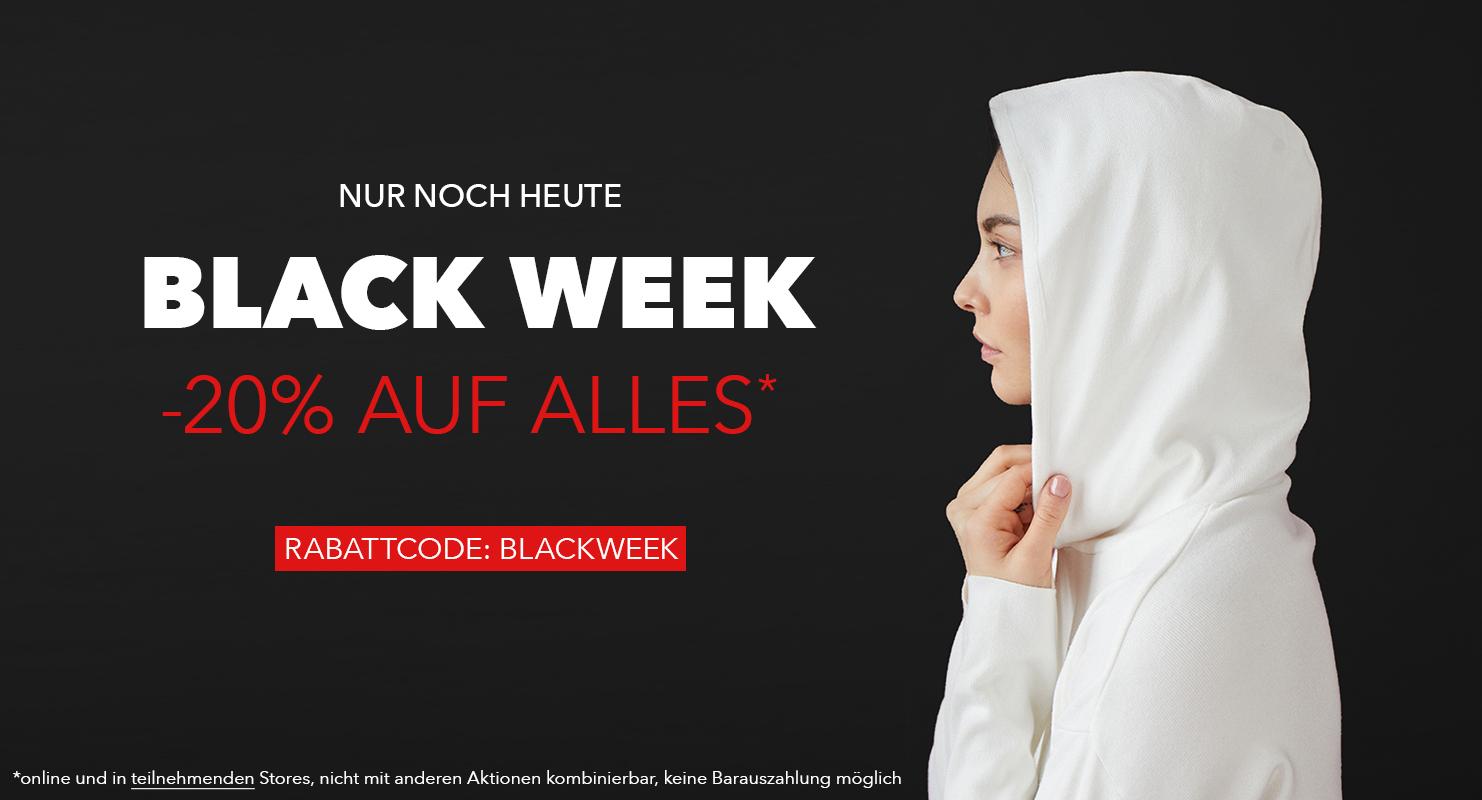 Black Week Nur noch heute
