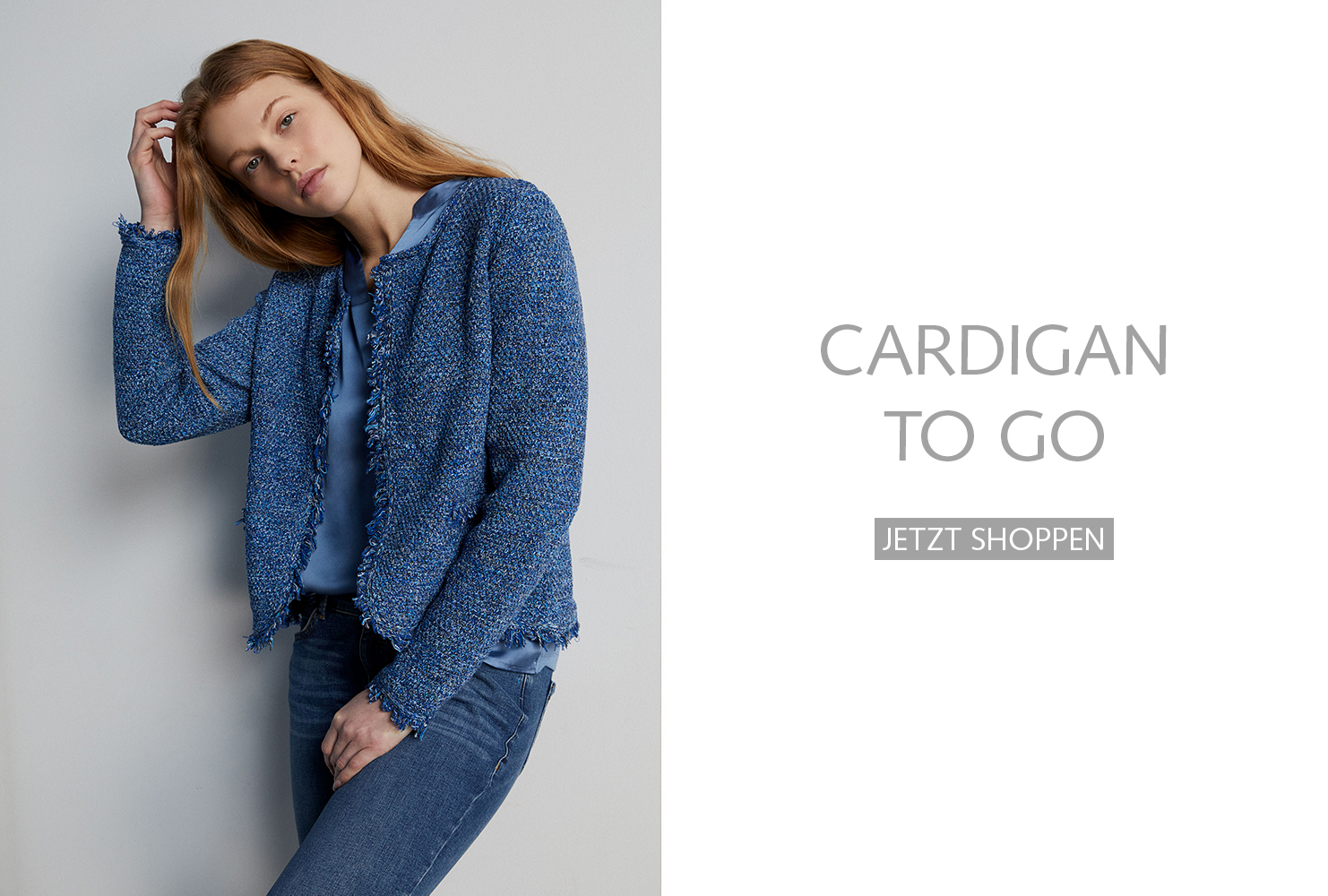 Cardigan to go