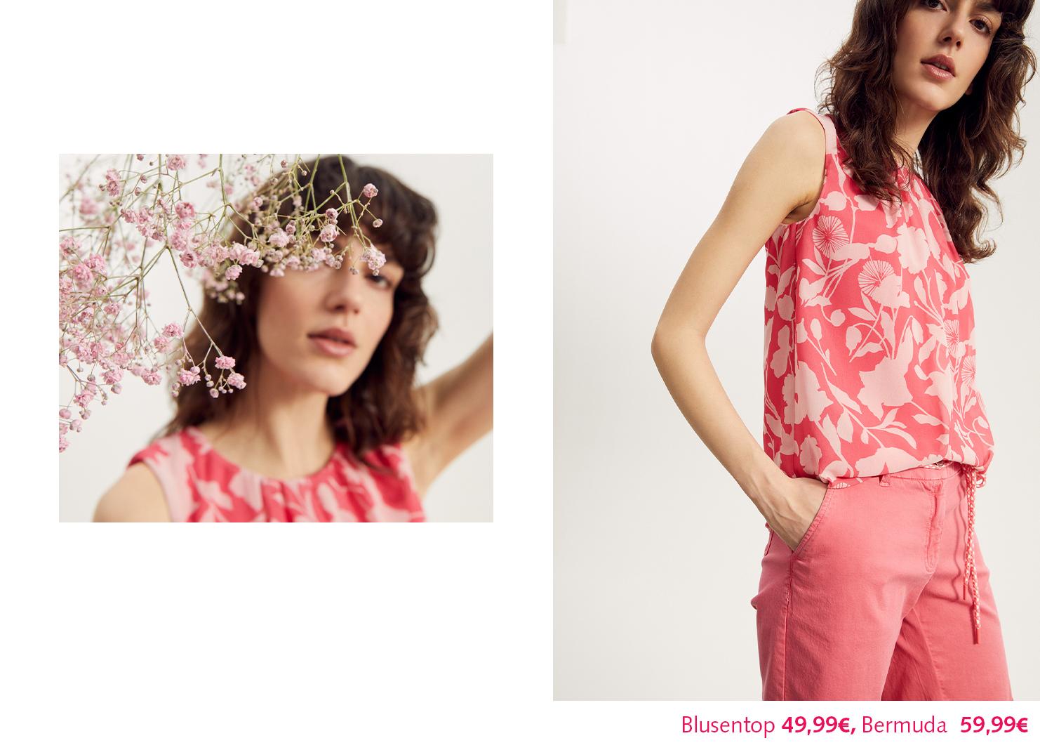 Prints we Love Pink Flower Print