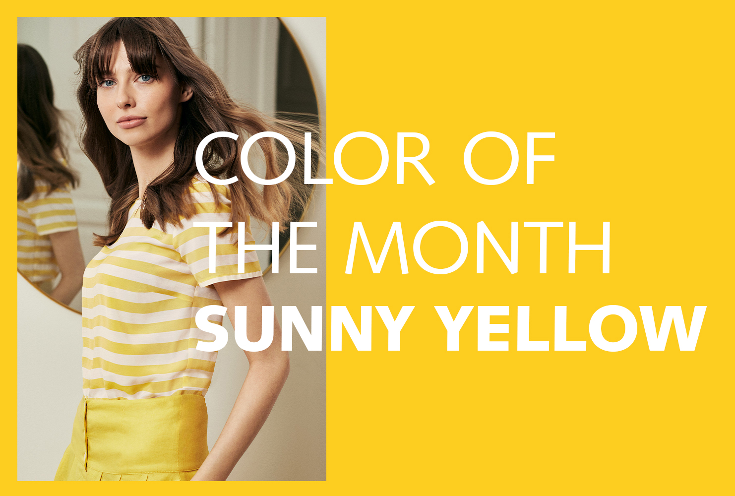 Color of the Month - Sunny Yellow