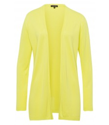 Offener Cardigan, lime green