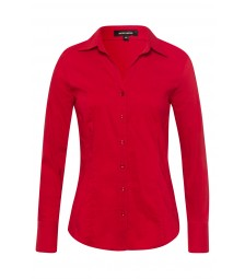 Businessbluse, autumn red