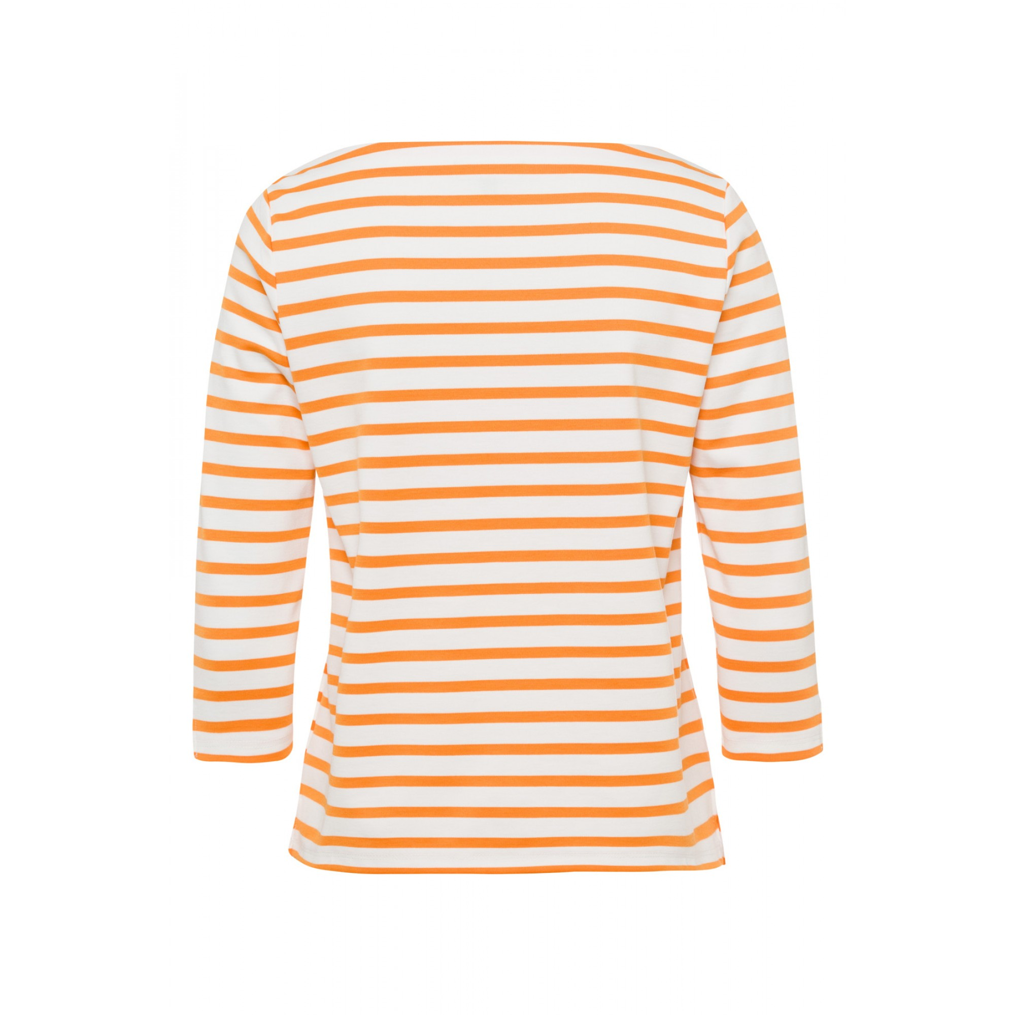Ringelshirt, orange/ecru 01960064-2420 2