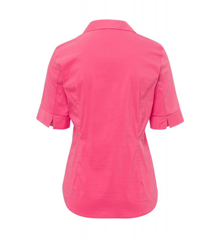 Baumwoll/Stretch Bluse, pink berry 11042566-0831 2
