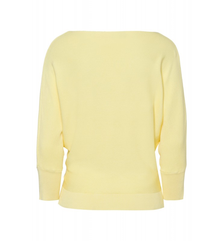 Fledermaus-Pullover, pastel yellow 11821549-0128 2