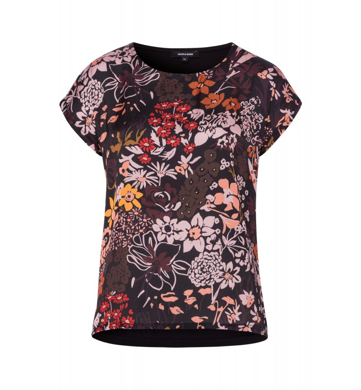 Shirt, Satinfront, Flowers 81090008-3790 1