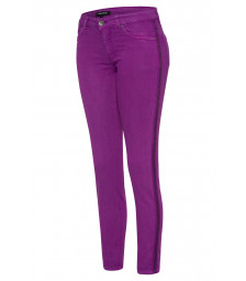 Skinny colored Denim, lila