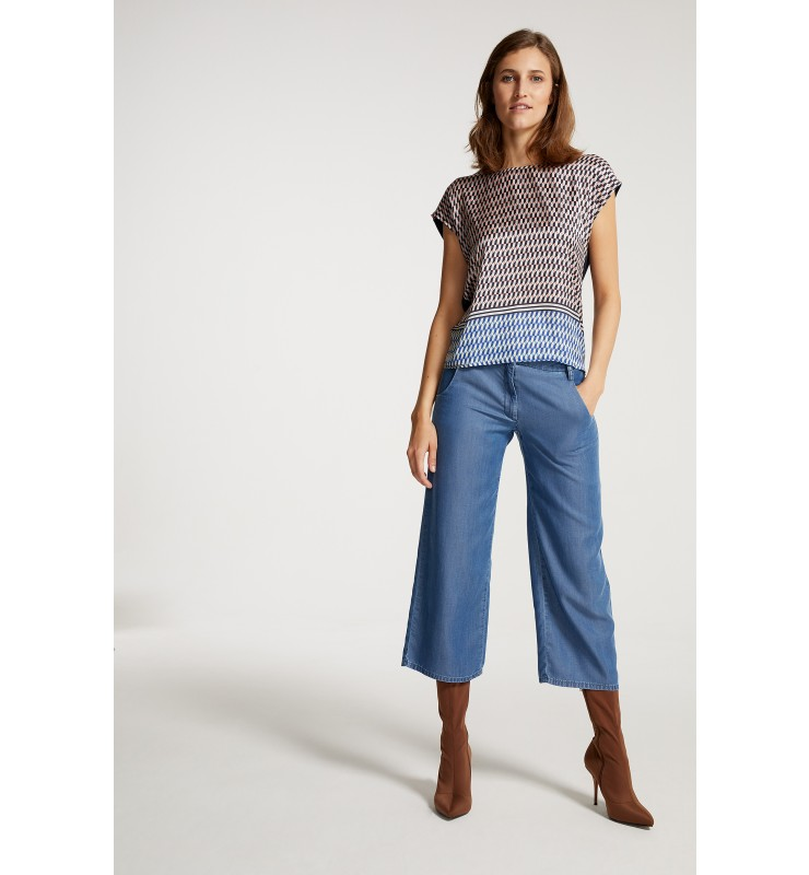 Jeans-Culotte, Lyocell 91044058-0962