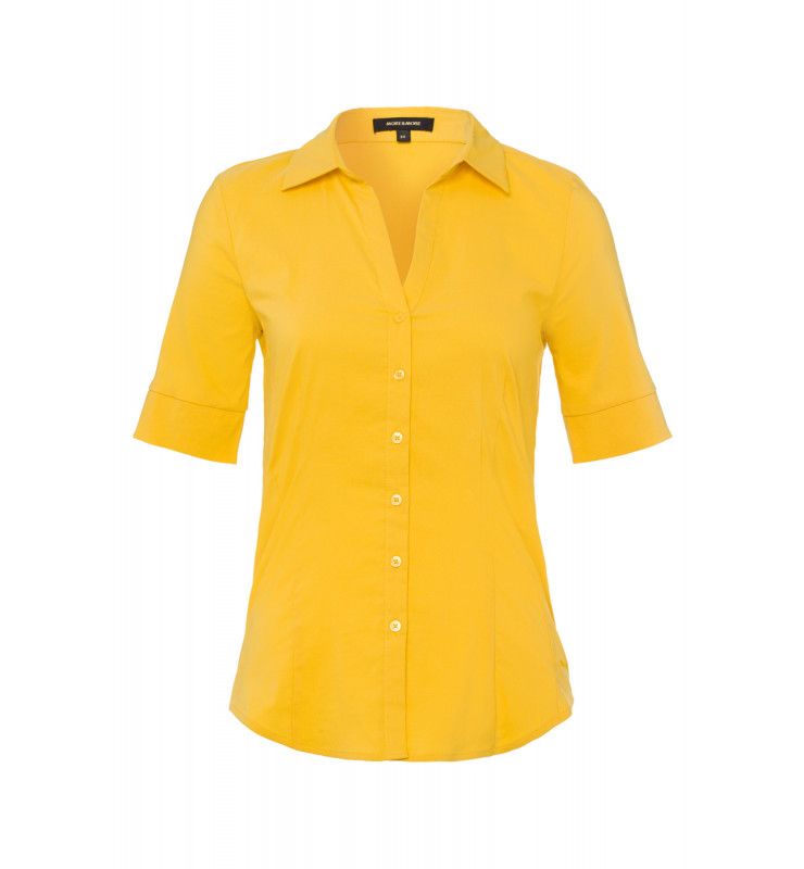Baumwoll/Stretch Bluse, bright sun 91052566-0155 1