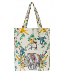 Strandtasche, Jungle-Print