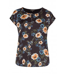 Shirt, Flowerfront