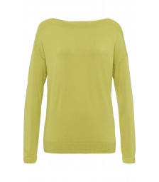Pullover, lime green