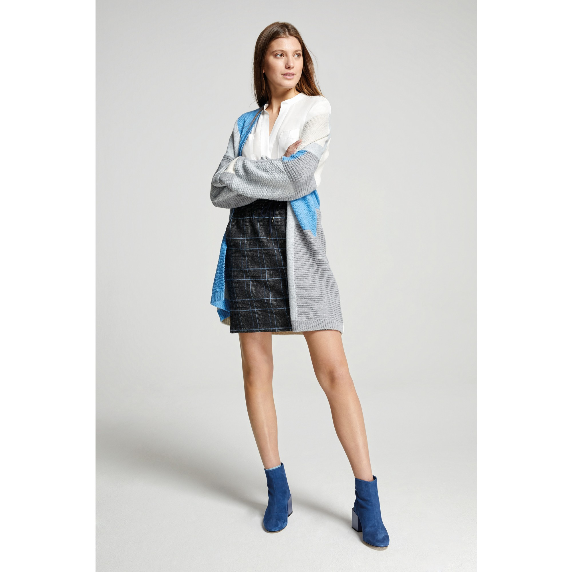 Cardigan, Colorblock 91111212-4717