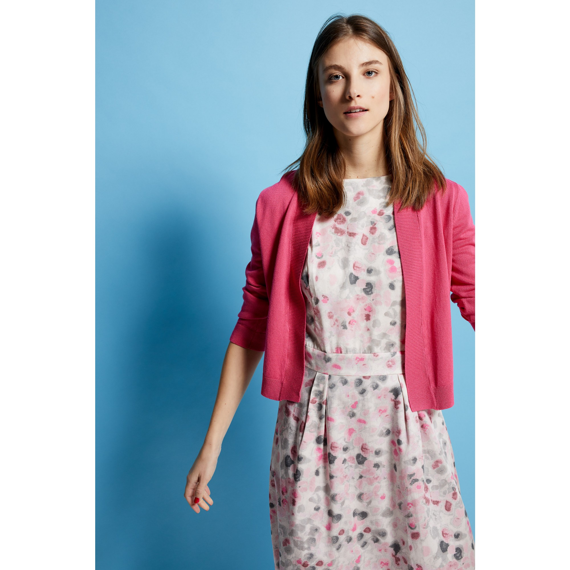 offener Cardigan, pink 91241507-0837